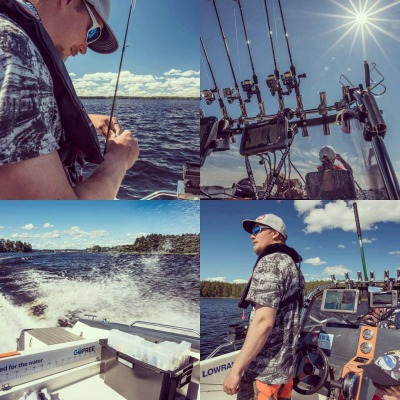 8 hours guided fishing at lake Syväri