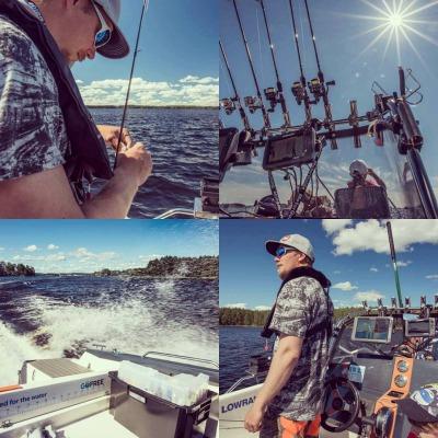 Koko päivän reissu kalastusmestareille